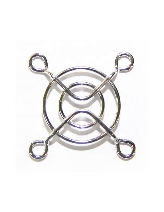 Accessoires - Grille de protection pour ventilateur 40 x 40 mm chromée - 2
