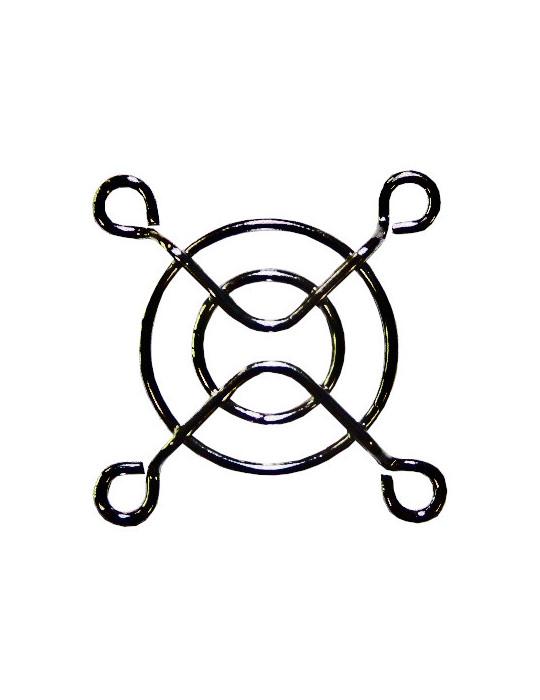 Accessoires - Grille de protection pour ventilateur 40 x 40 mm noire - 2