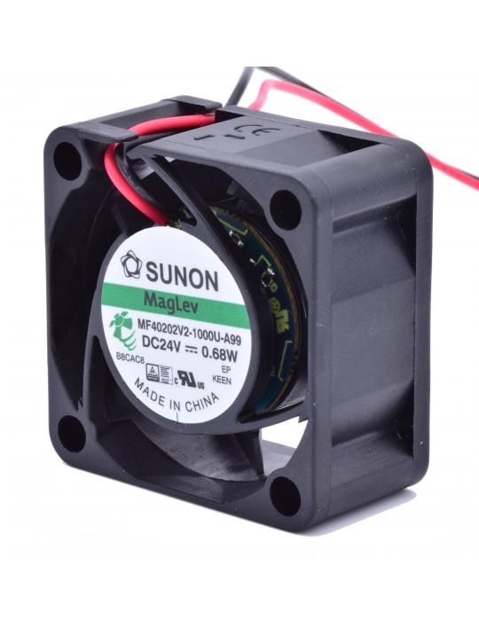 Ventilateurs - Ventilateur Sunon MF40202V2-1000U-A99 24V - LE compromis - 2
