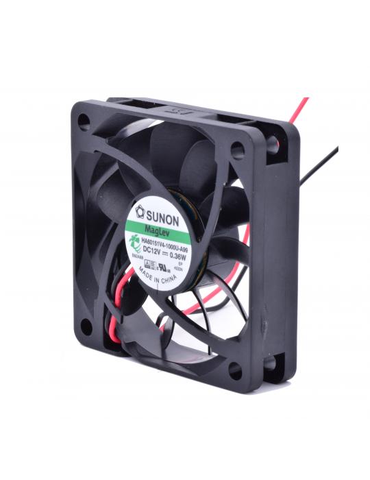 Ventilateurs - Ventilateur Sunon HA60151V4-1000U-A99 - 12V silencieux - 60x60x15mm - 1