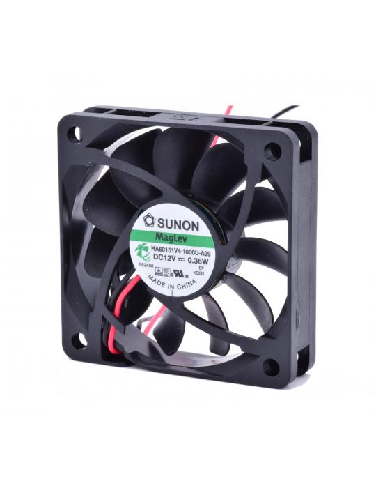 Ventilateurs - Ventilateur Sunon HA60151V4-1000U-A99 - 12V silencieux - 60x60x15mm - 2