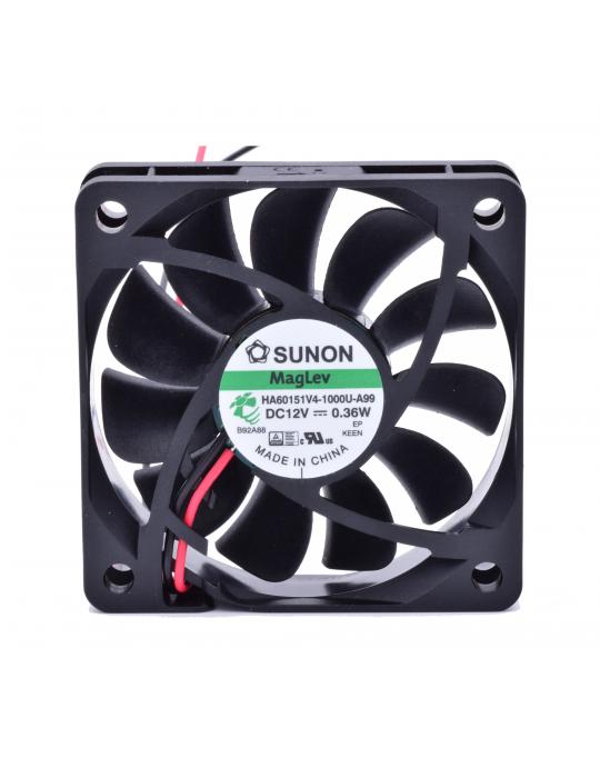 Ventilateurs - Ventilateur Sunon HA60151V4-1000U-A99 - 12V silencieux - 60x60x15mm - 3