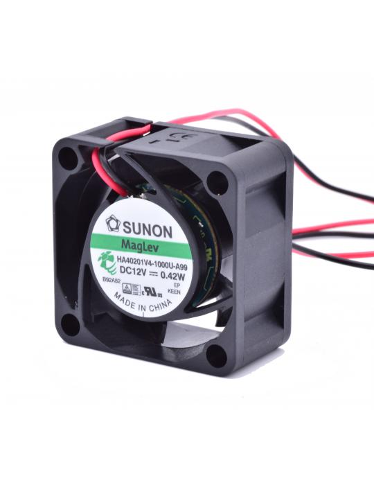 Ventilateurs - Ventilateur Sunon HA40201V4-1000U-A99 12V - Ultra silencieux - 1