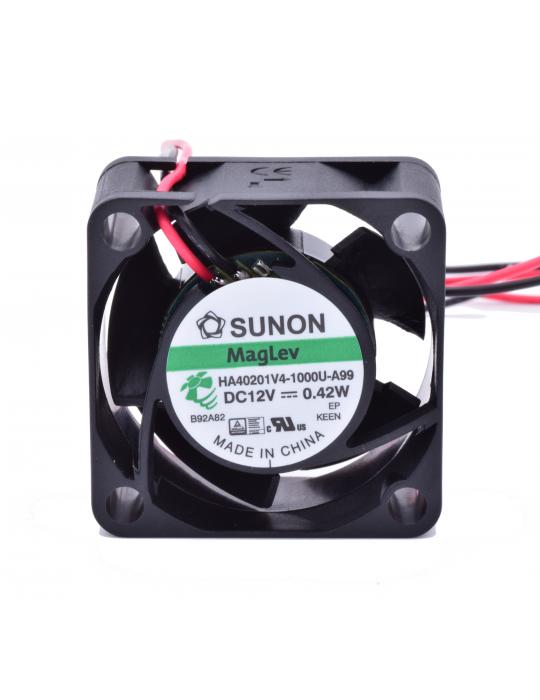 Ventilateurs - Ventilateur Sunon HA40201V4-1000U-A99 12V - Ultra silencieux - 2