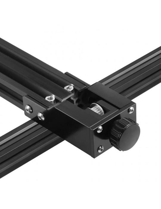 Accessoires - Tendeur de courroie aluminium profilé 2040 - axe Y - noir - 7