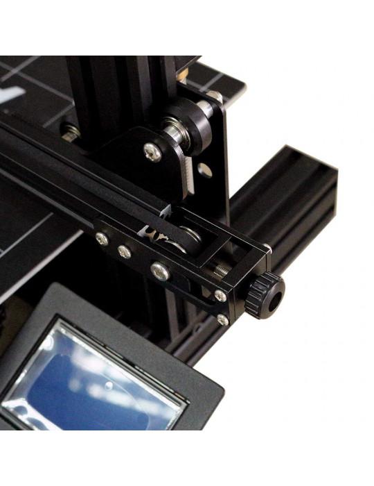 Accessoires - Tendeur de courroie aluminium profilé 2020 - axe X - noir - 5