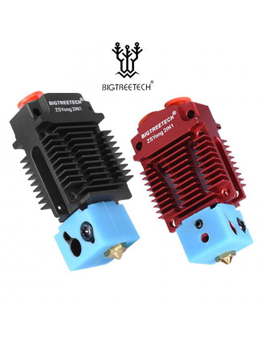 Originales - Hotend Double Filament en Y Bigtreetech Originale 24V Kit complet - 2