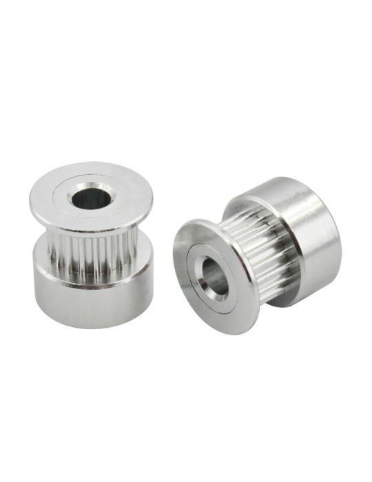 Poulies / Pignons - Pignon de distribution CompoZan HQ GT2 6mm 20 dents - 3