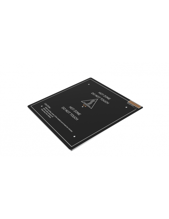 Plateaux chauffants - Lit chauffant 24V 220W 310 x 310 mm - 1
