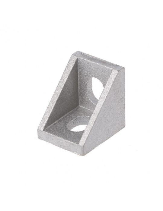 Géométrie - Equerre aluminium pour profilés V/T-slot 2020 - Silver (argent) - 1
