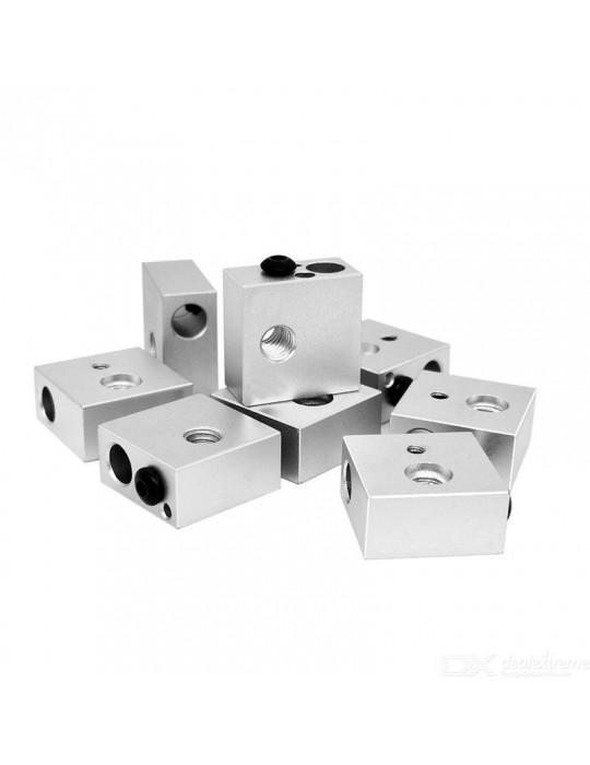 Blocs de chauffe - Corps bloc de chauffe en aluminium MK8 - 3
