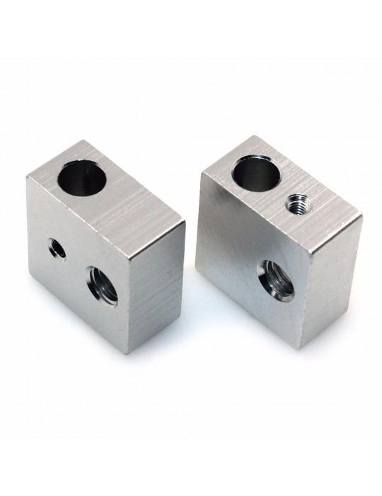 Blocs de chauffe - Corps bloc de chauffe en aluminium MK8 - 1