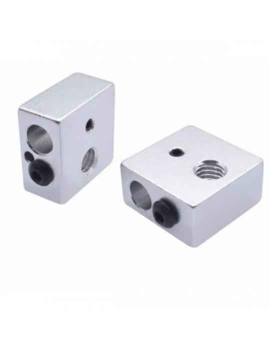 Blocs de chauffe - Corps bloc de chauffe en aluminium MK8 - 2