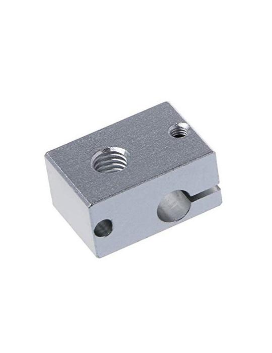Blocs de chauffe - Corps bloc de chauffe en aluminium E3D V6 - 1