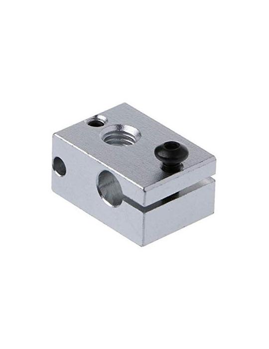 Blocs de chauffe - Corps bloc de chauffe en aluminium E3D V6 - 2