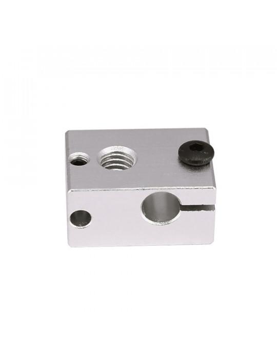 Blocs de chauffe - Corps bloc de chauffe en aluminium E3D V6 - 3