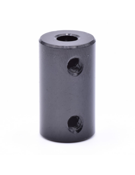 Visserie - Coupleur rigide noir Aluminium T8-T5 - 2