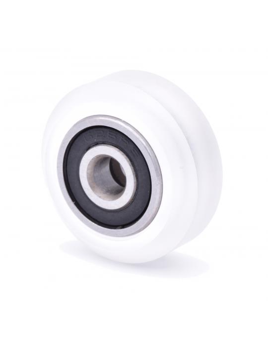 Galets / Courroies / Poulies - Galet roue Polycarbonate CompoZan HQ - Type OpenBuilds V-slot - 1
