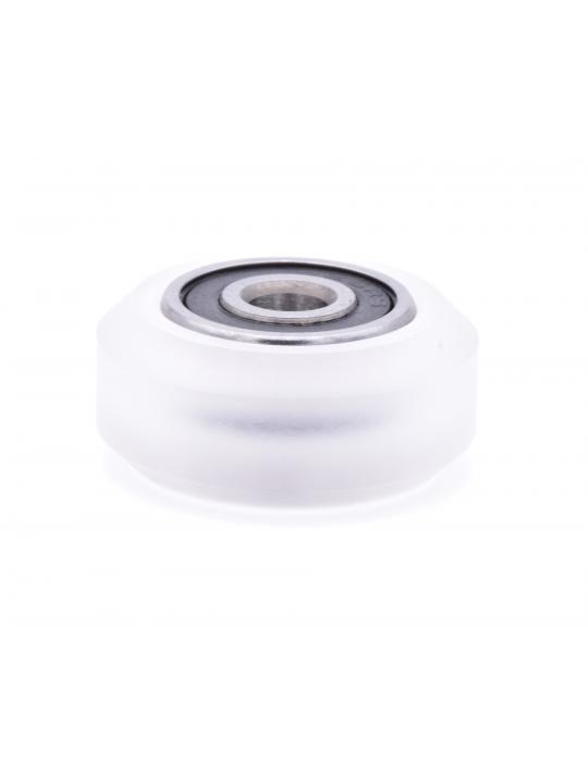 Galets / Courroies / Poulies - Galet roue Polycarbonate CompoZan HQ - Type OpenBuilds V-slot - 3
