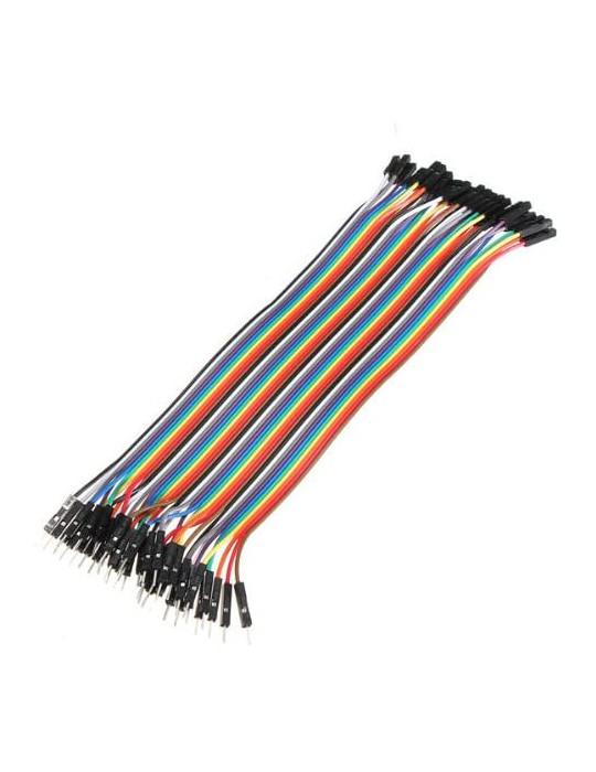 Connectiques / Câblages - Rallonge de câble GPIO Mâle / Femelle - 20 cm - 1