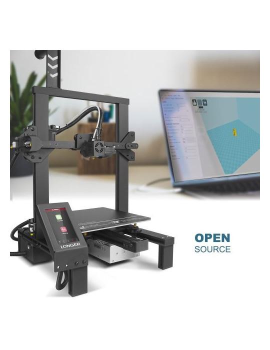 FDM Cartésiennes - Imprimante 3D Longer3D LK4 Pro FDM 220x220x250mm OpenSource Marlin - 3