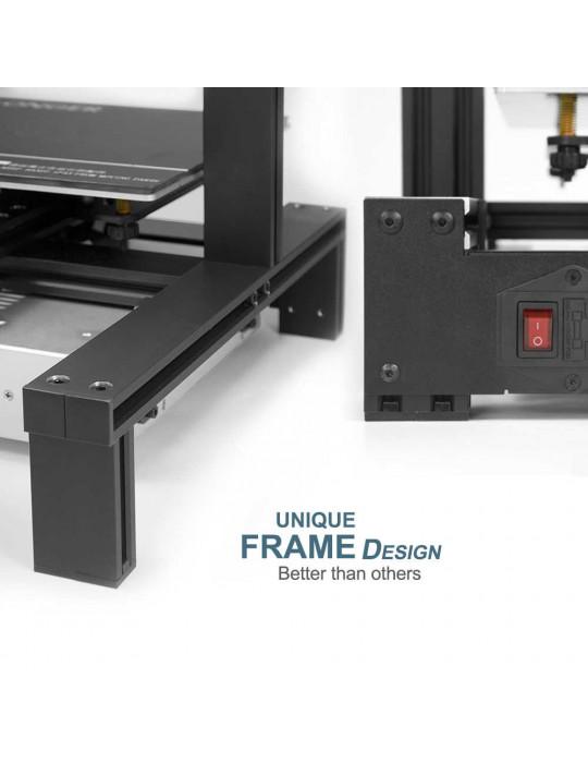 FDM Cartésiennes - Imprimante 3D Longer3D LK4 Pro FDM 220x220x250mm OpenSource Marlin - 4