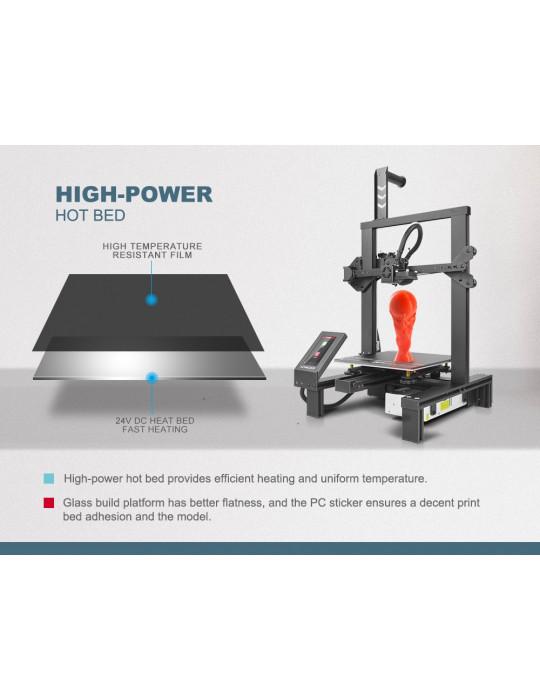FDM Cartésiennes - Imprimante 3D Longer3D LK4 Pro FDM 220x220x250mm OpenSource Marlin - 5
