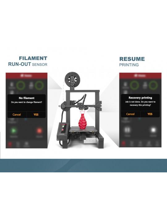 FDM Cartésiennes - Imprimante 3D Longer3D LK4 Pro FDM 220x220x250mm OpenSource Marlin - 6