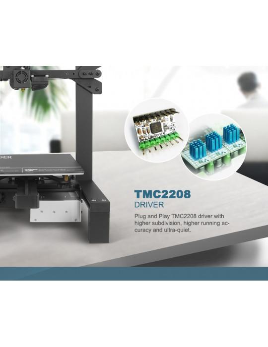 FDM Cartésiennes - Imprimante 3D Longer3D LK4 Pro FDM 220x220x250mm OpenSource Marlin - 8