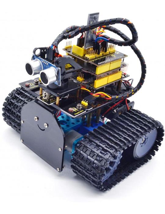 Kits DIY - Kit Robot Tank intelligent - Éducatif - 1