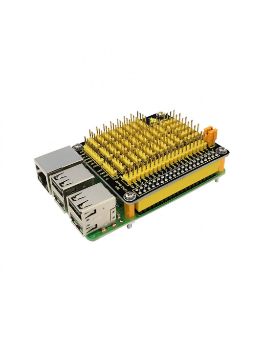 Modules - Hat GPIO avec convertisseur AD/DA - Raspberry Pi modèle B - 1