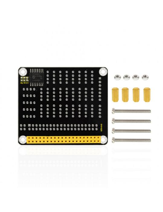 Modules - Hat GPIO avec convertisseur AD/DA - Raspberry Pi modèle B - 5