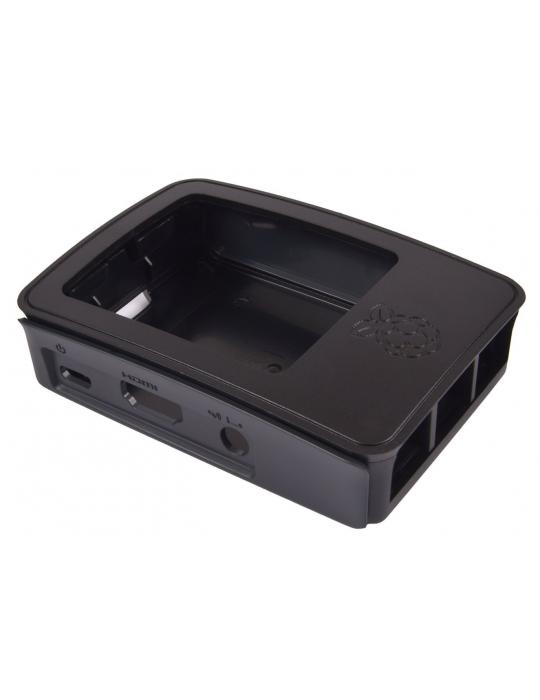 Boitiers - Boîtier Raspberry Pi 3 noir - 2