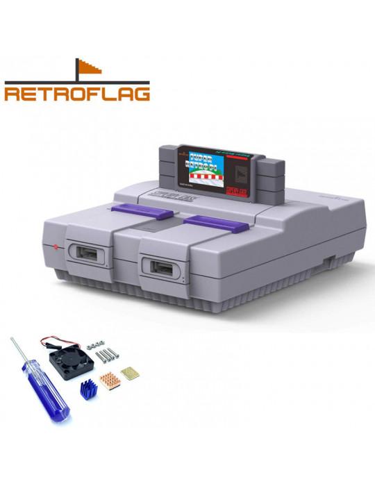 Gaming - Rétro / DIY - Boitier SuperPi Case (Super Famicom) pour Rasberry Pi 3 - 1