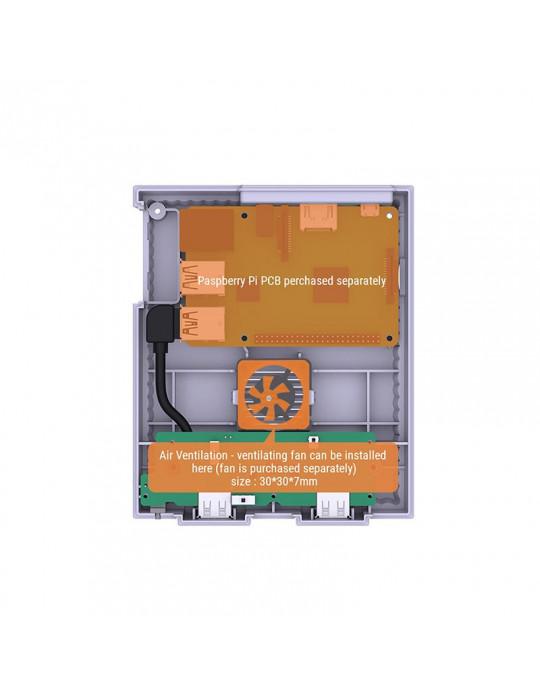 Gaming - Rétro / DIY - Boitier SuperPi Case (Super Famicom) pour Rasberry Pi 3 - 6