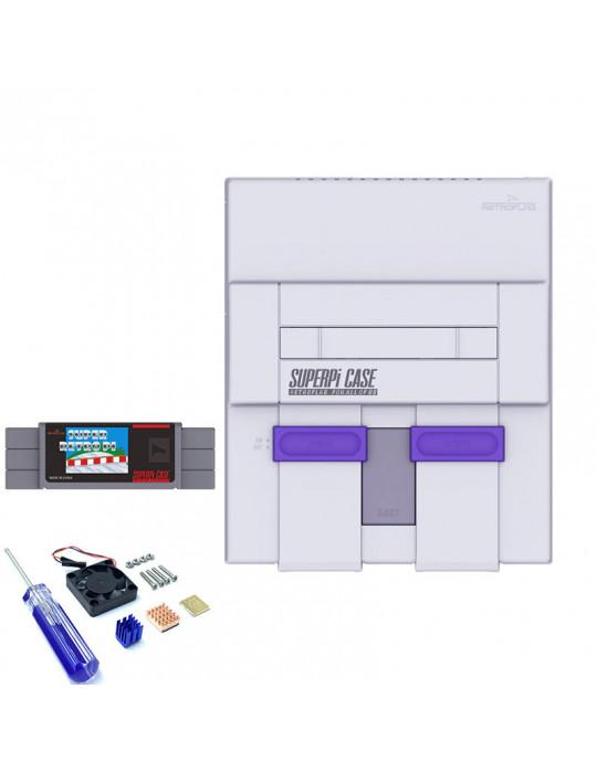 Gaming - Rétro / DIY - Boitier SuperPi Case (Super Famicom) pour Rasberry Pi 3 - 7