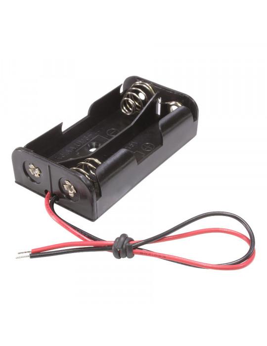 Electronique - Support de piles 2 x AA - 1