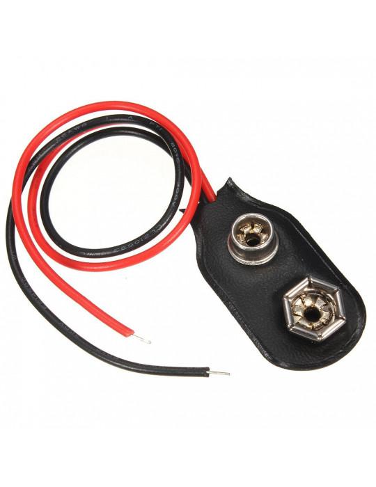 Electronique - Support de pile 9V - 1