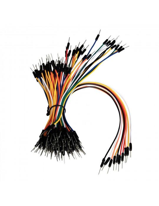 Câbles - Câbles jumpers pour carte de prototypage - 65 unités - 1