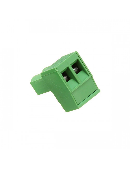 Electronique - Connecteur 2EDC mâle 2 bornes - pas de 3.5mm - 1