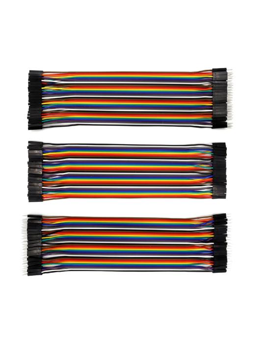 Connectiques / Câblages - Pack de 3 rallonges GPIO de 20 cm - 1