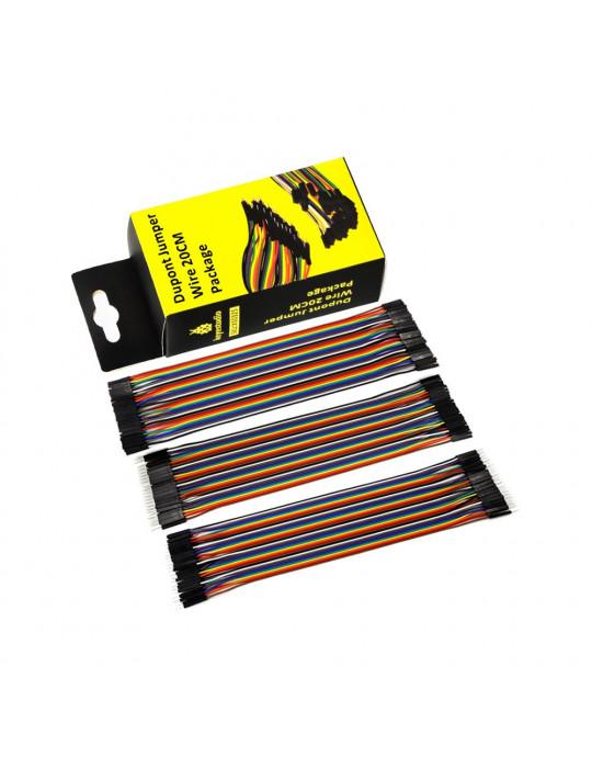 Connectiques / Câblages - Pack de 3 rallonges GPIO de 20 cm - 2