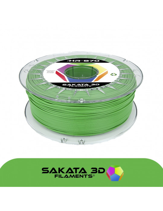 Filaments PLA - Filament PLA SAKATA HR-870 1,75mm 1Kg (Ingeo 3D870) - Vert - 1