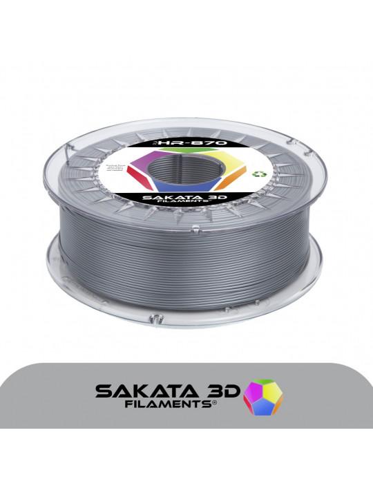 Filaments PLA - Filament PLA SAKATA HR-870 1,75mm 1Kg (Ingeo 3D870) - Argent - 1