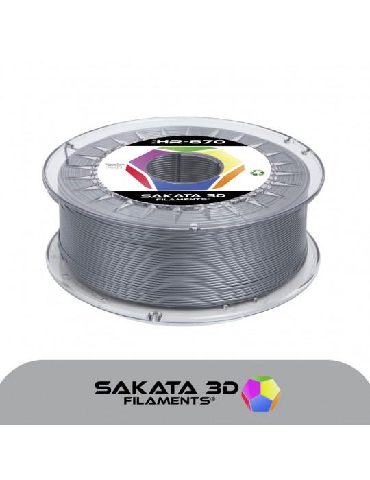 Filaments PLA - Filament PLA SAKATA HR-850 1,75mm 1Kg (Ingeo 3D850) - Argent - 1
