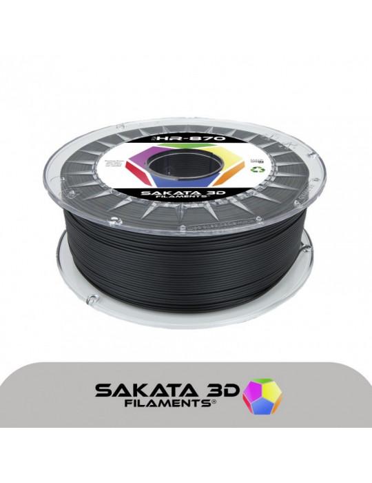 Filaments PLA - Filament PLA SAKATA HR-870 1,75mm 1Kg (Ingeo 3D870) - Noir - 1