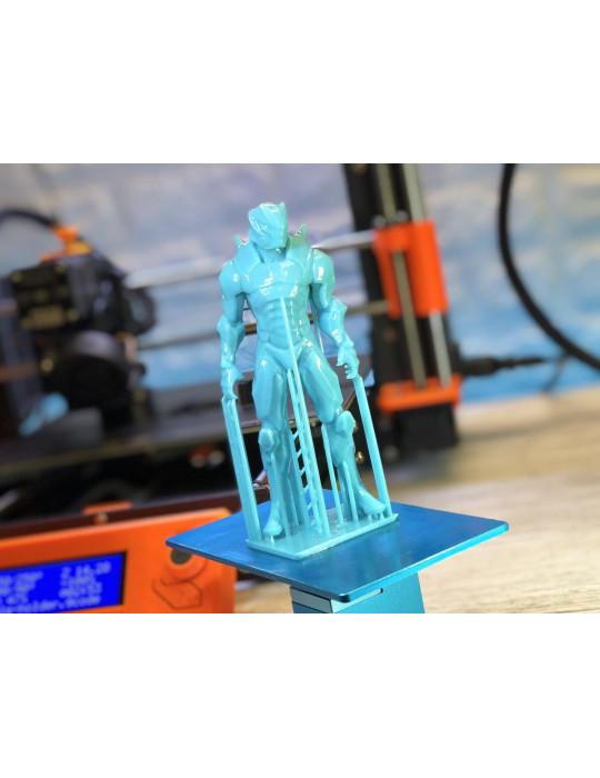 Résines - Résine SLA UV Prima Creator Tough Aqua Blue (bleu) 1000ml - 3