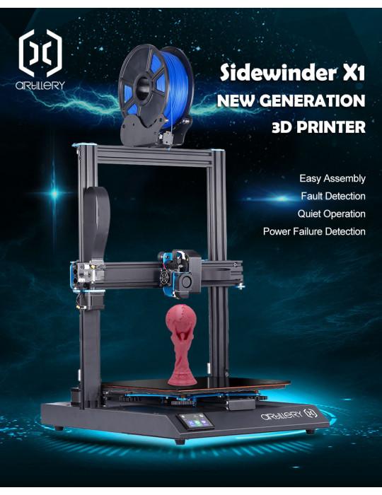 FDM Cartésiennes - Imprimante 3D FDM Artillery Sidewinder X1 V4 (dernière version) - 1