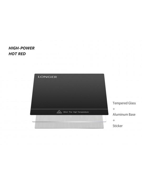 FDM Cartésiennes - Imprimante 3D Longer3D LK1 V2 FDM 300x300x400mm (Marlin ready) - 7