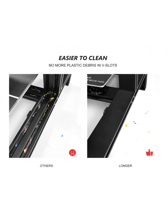 FDM Cartésiennes - Imprimante 3D Longer3D LK1 V2 FDM 300x300x400mm (Marlin ready) - 6